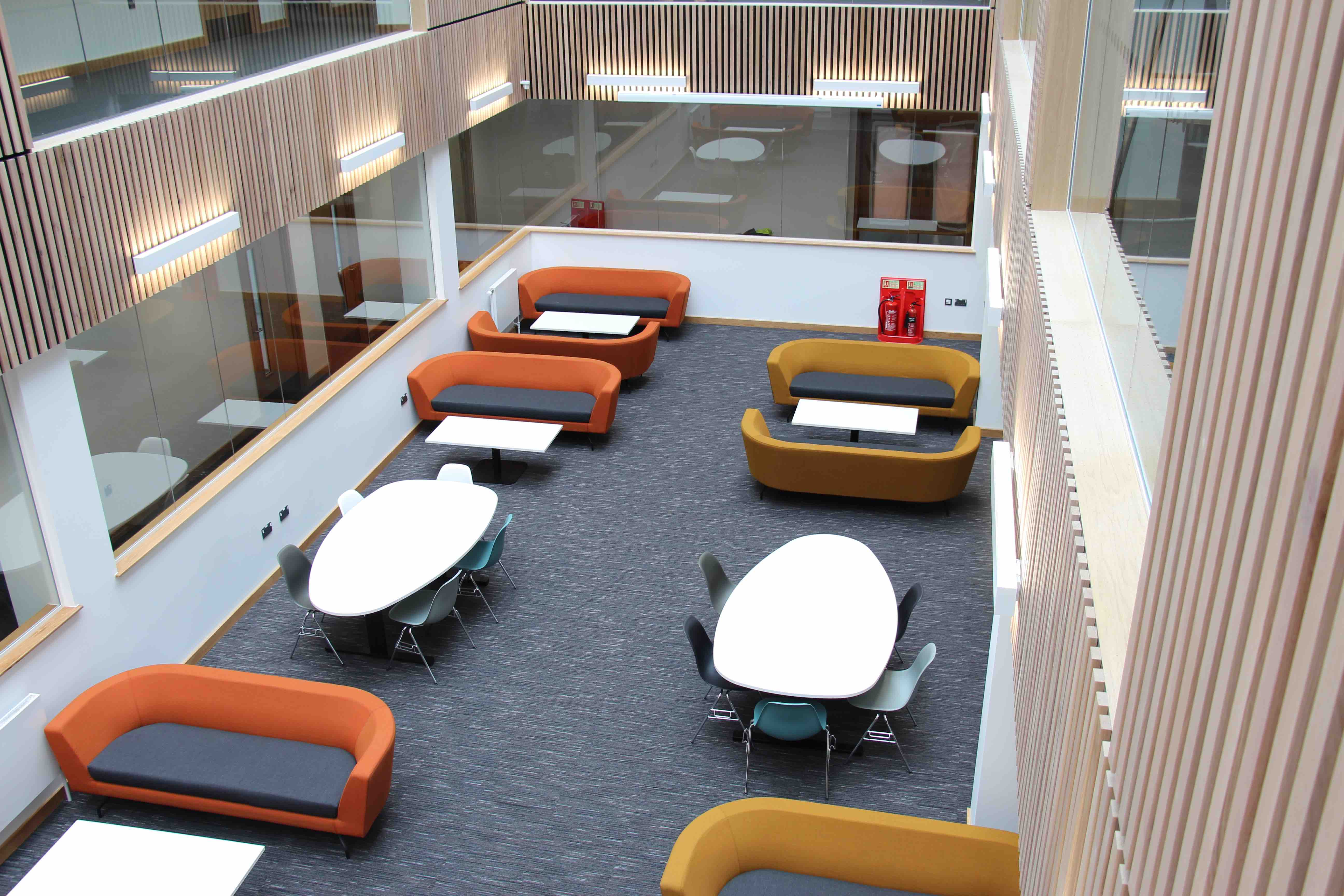 Paragon Carpet Tiles | Strobe | Swansea University