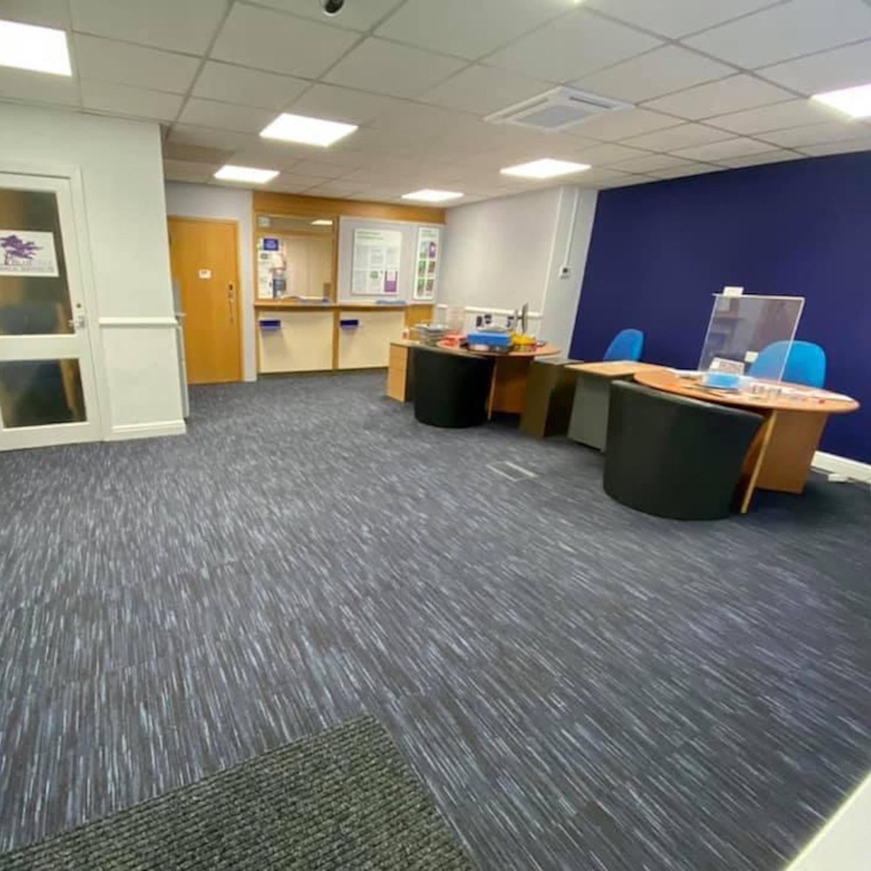 Andrew Kelly Estate Agents - Paragon Carpet Tiles - Commercial Carpet Tiles