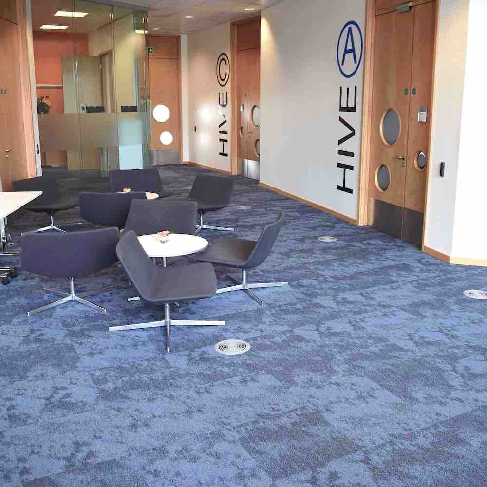 Paragon Carpet Tiles | Commercial Carpet Tiles | BP Aberdeen Vapour