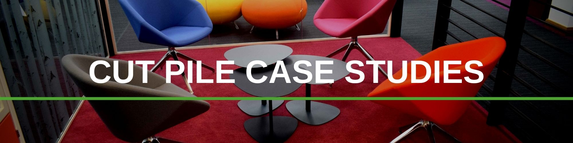 CUT PILE CASE STUDIES | Paragon Carpet Tiles | Commercial Carpet Tiles