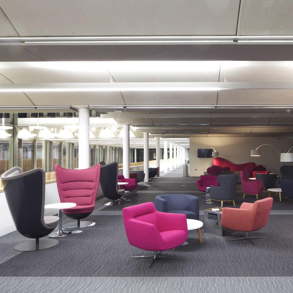Paragon Carpet Tiles | Cetus | Notts Uni