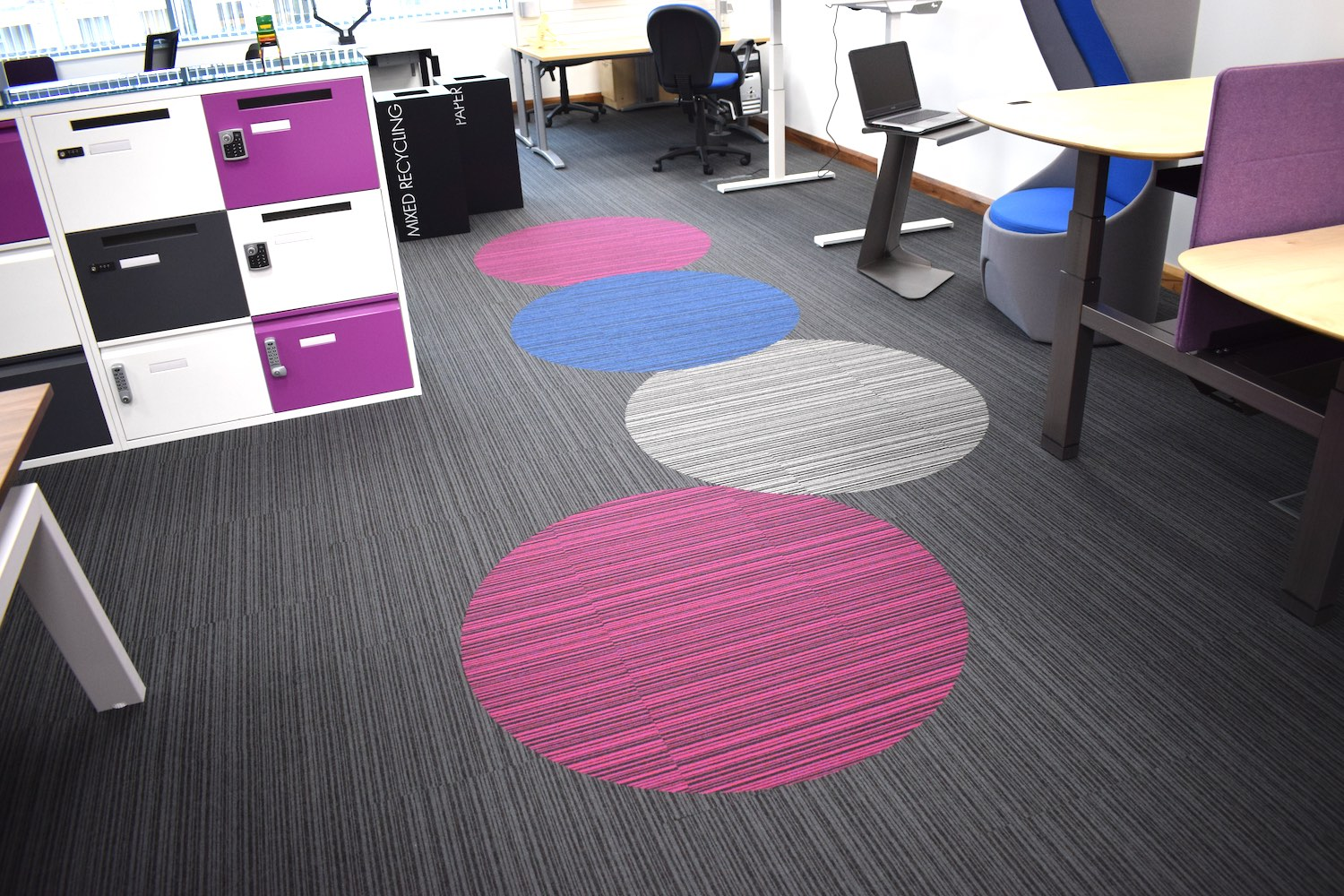 Codec | Design Loop Carpet Tiles | Paragon Carpet Tiles | Commercial Carpet Tiles