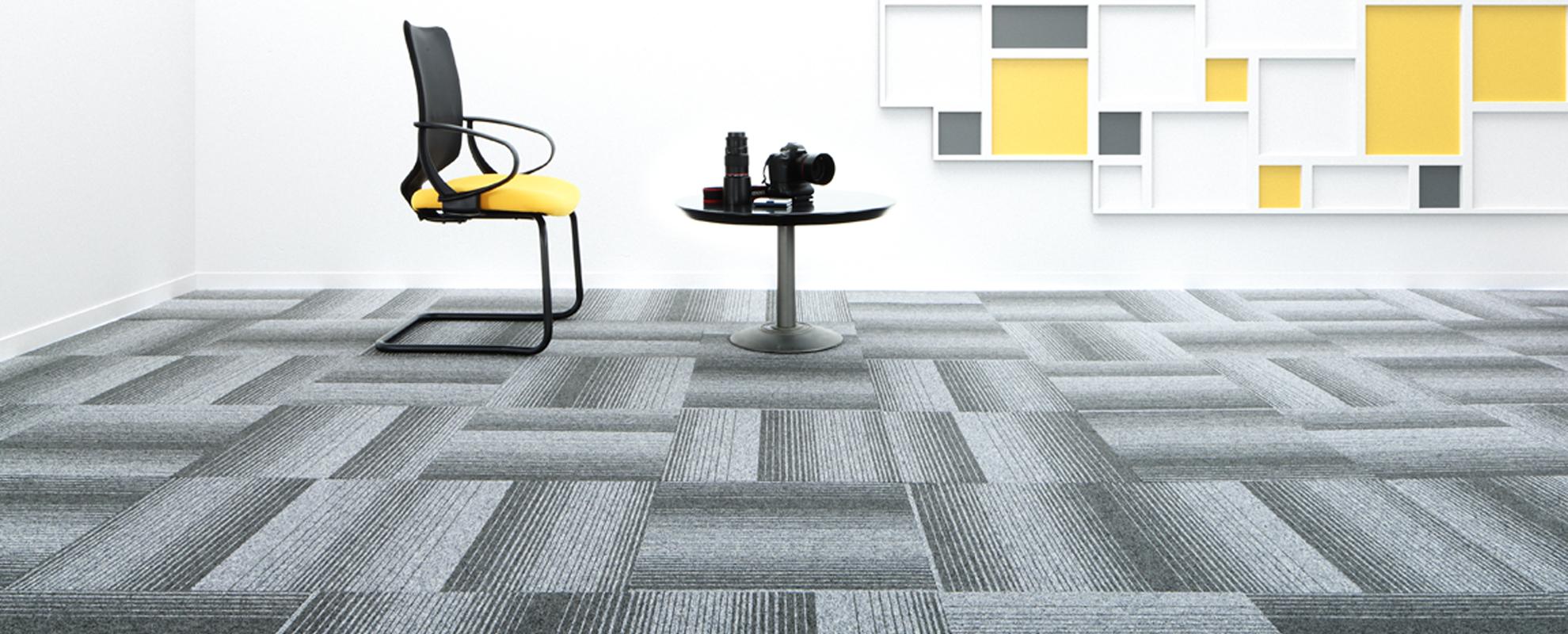 Diversity Groove Carpet Tiles Paragon Carpets