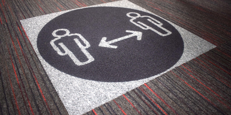 Paragon Carpet Tiles   Social Distancing Carpet Tiles   Guide   Home Header