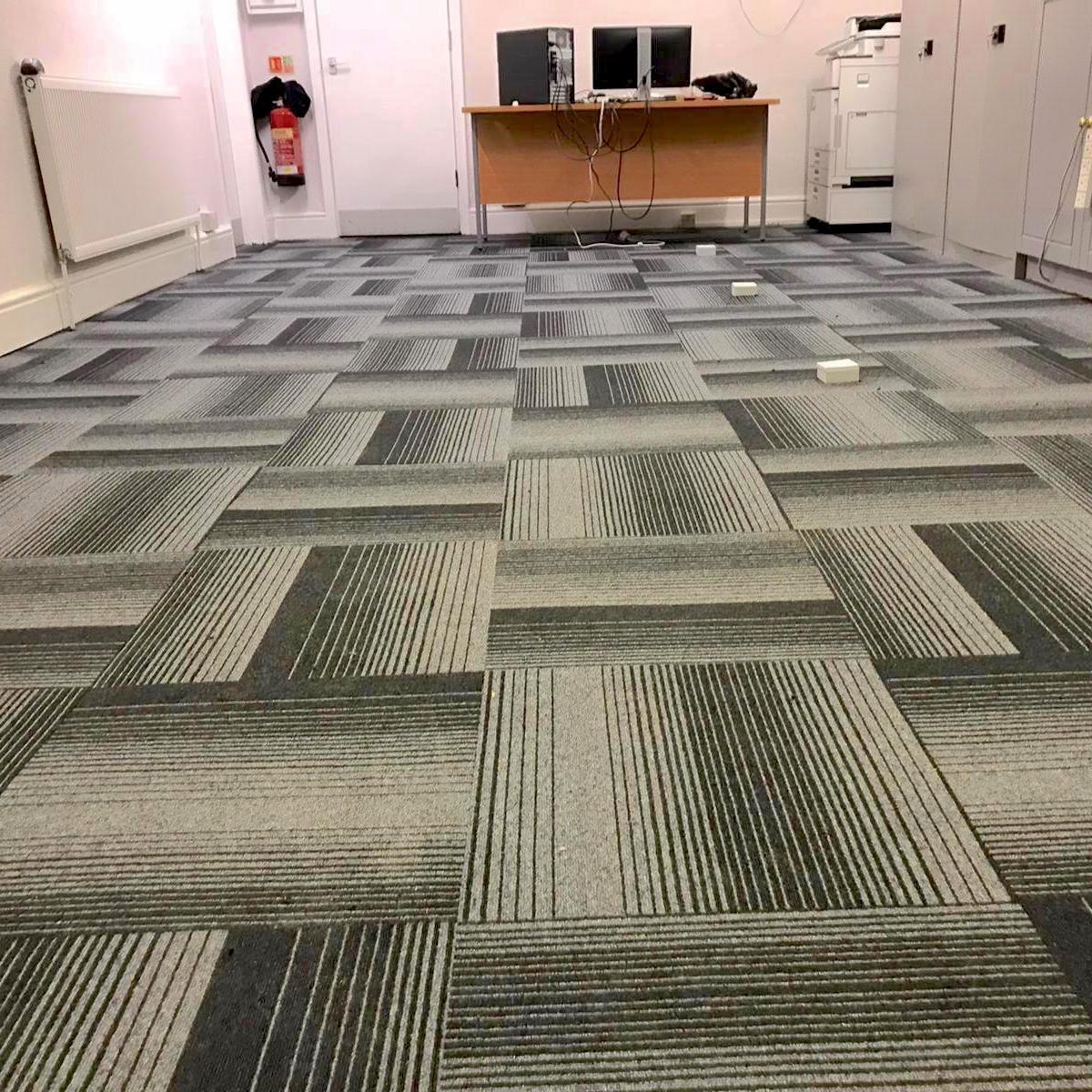 Estate Agents - Diversity Groove - Paragon Carpet Tiles (Hero)