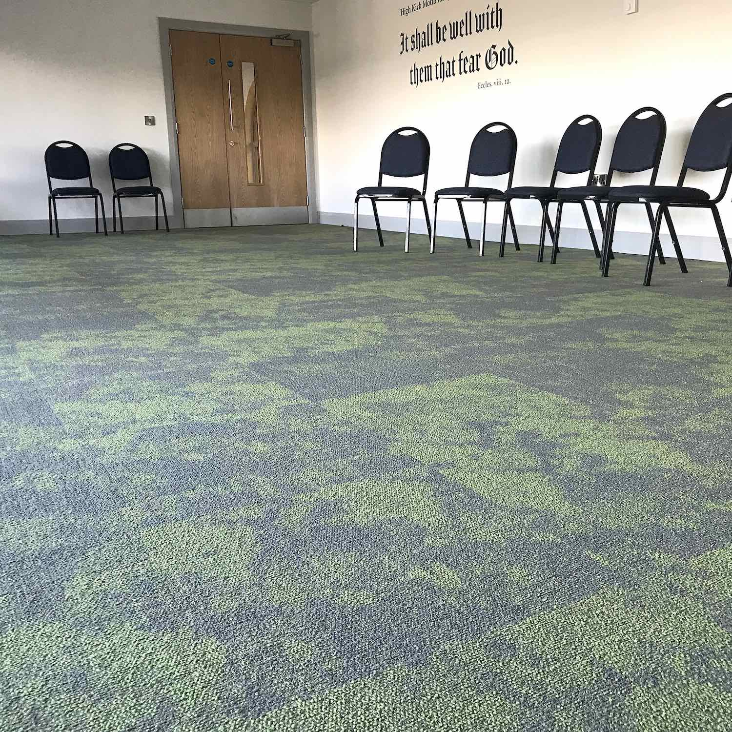 Paragon Carpet Tiles | High Kirk Church | Commercial Carpets