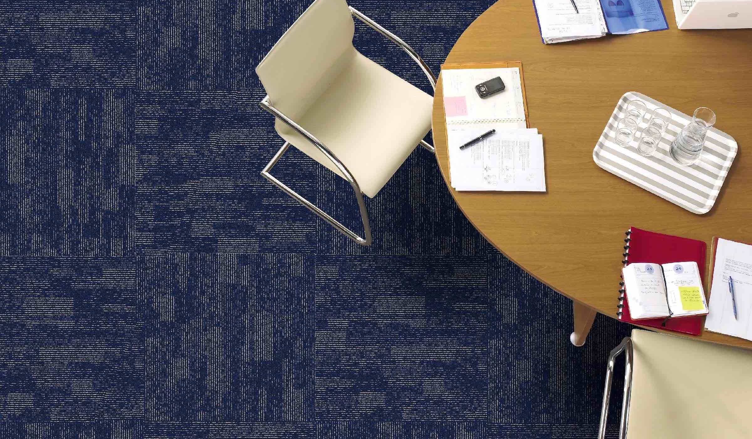 Inspiration Collection | Phase Cloud Indigo 2 | Paragon Carpet Tiles | Commercial Carpet Tiles | Design Carpet Tiles