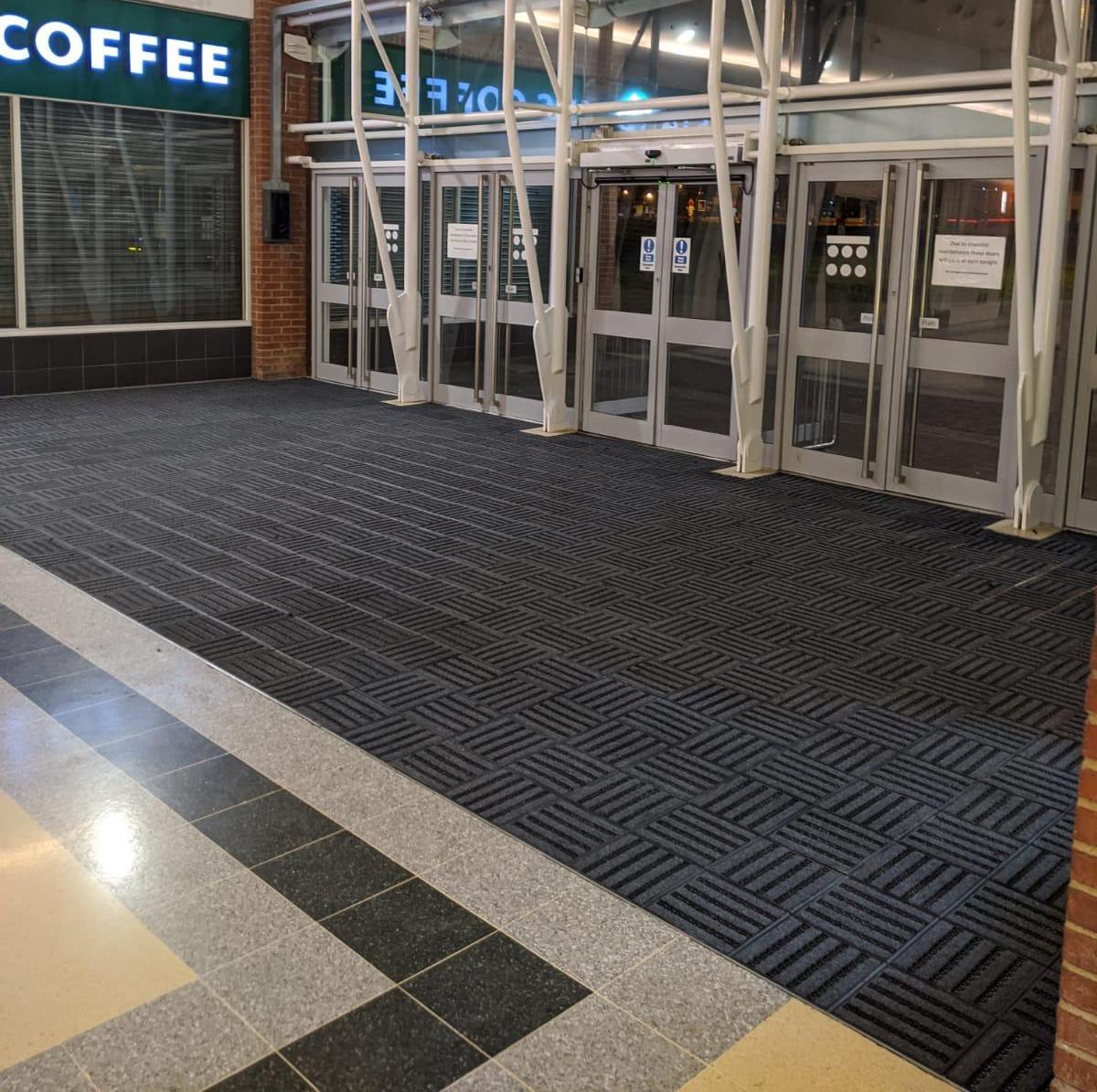 MatWorks Entrance Solutions | Bridges Shopping Centre | Treadloc 25