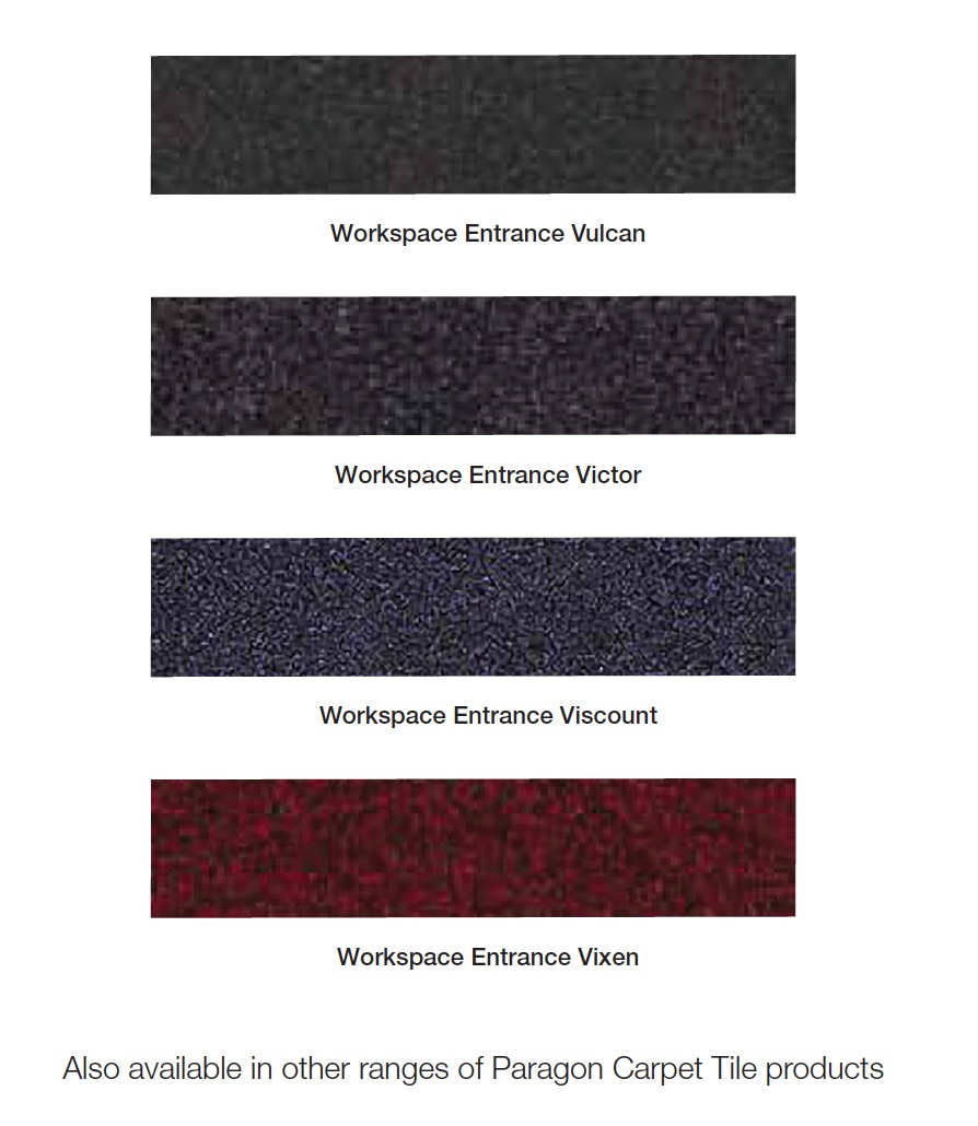 MatWorks | Fusion Logo Mat | Entrance Solutions | Entrance Matting (Swatch)