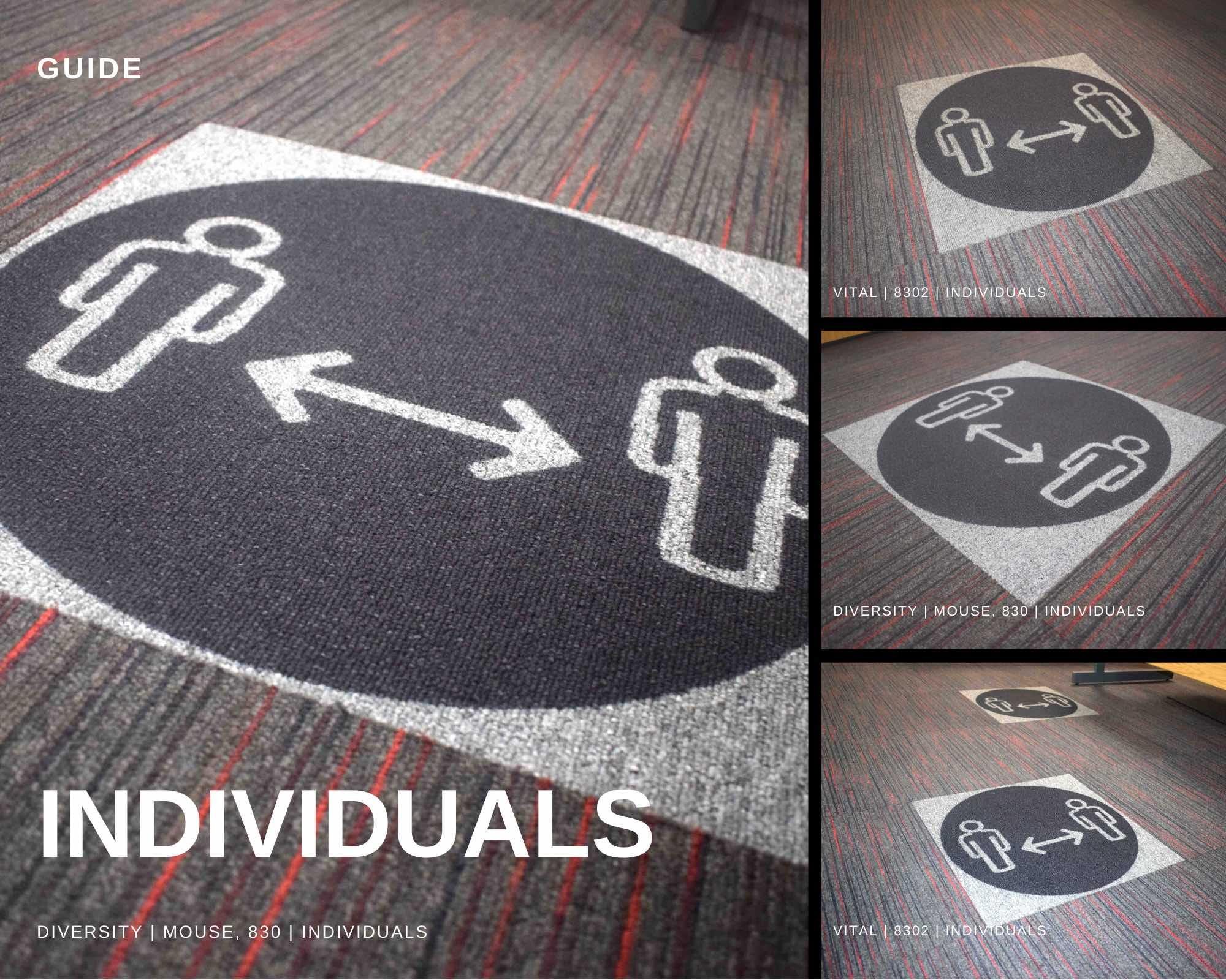 Paragon Carpet Tiles | Social Distancing | Commercial Carpet Tiles | Guide