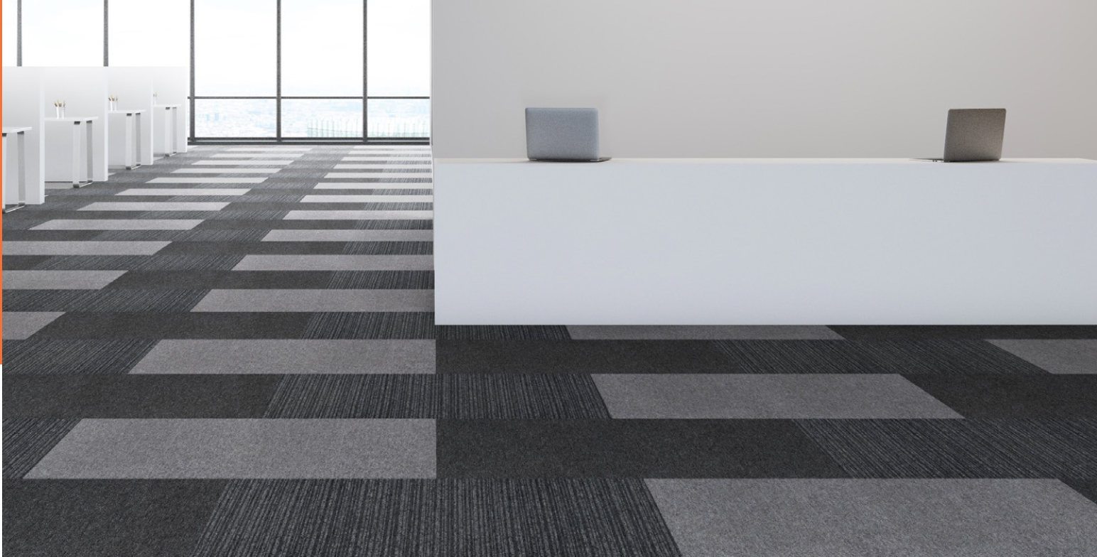 Paragon Carpet Tiles | Social Distancing | Commercial Carpet Tiles | Vital