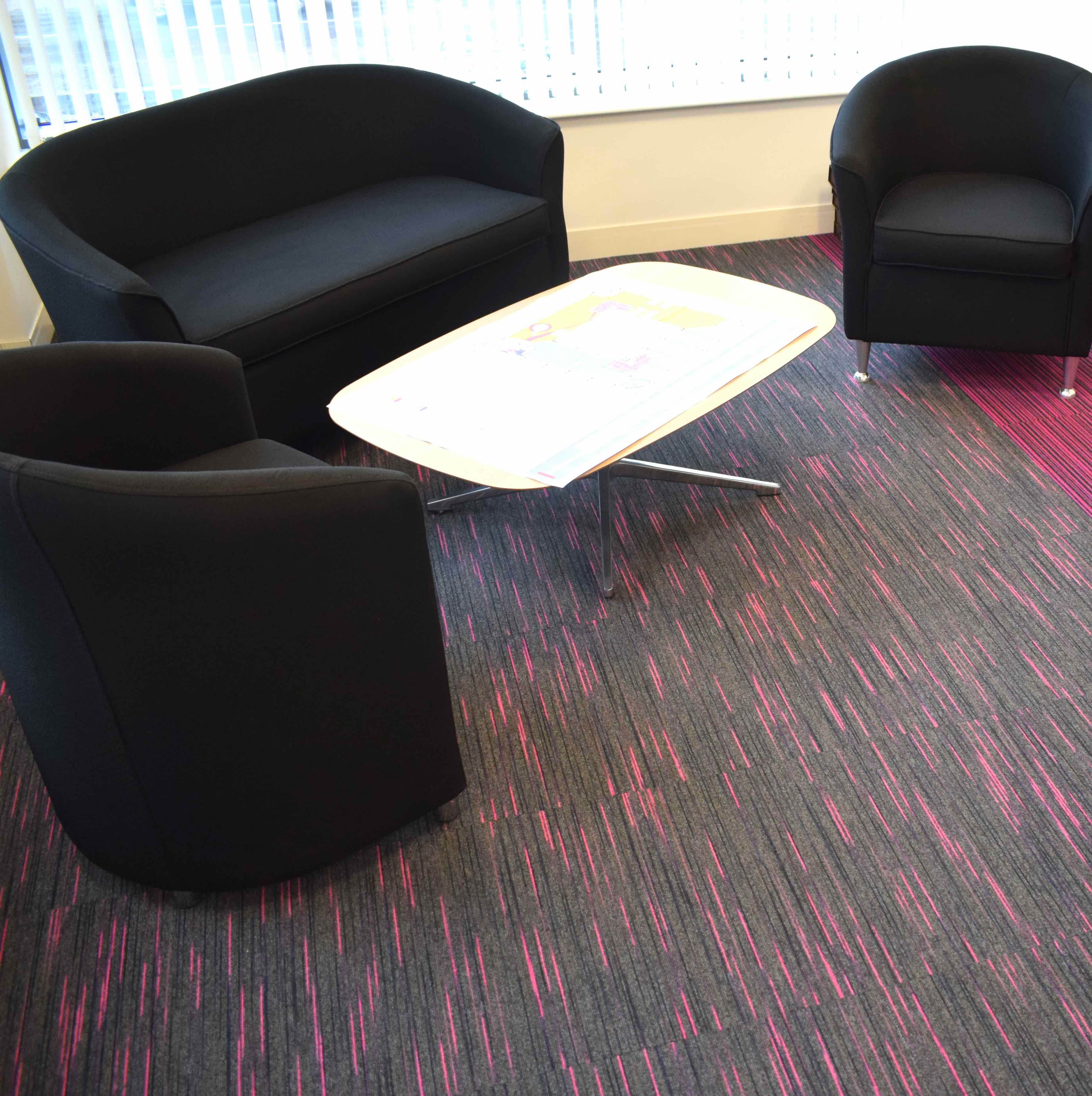 Paragon Carpet Tiles | Stobe and Codec | Office Visions Hero