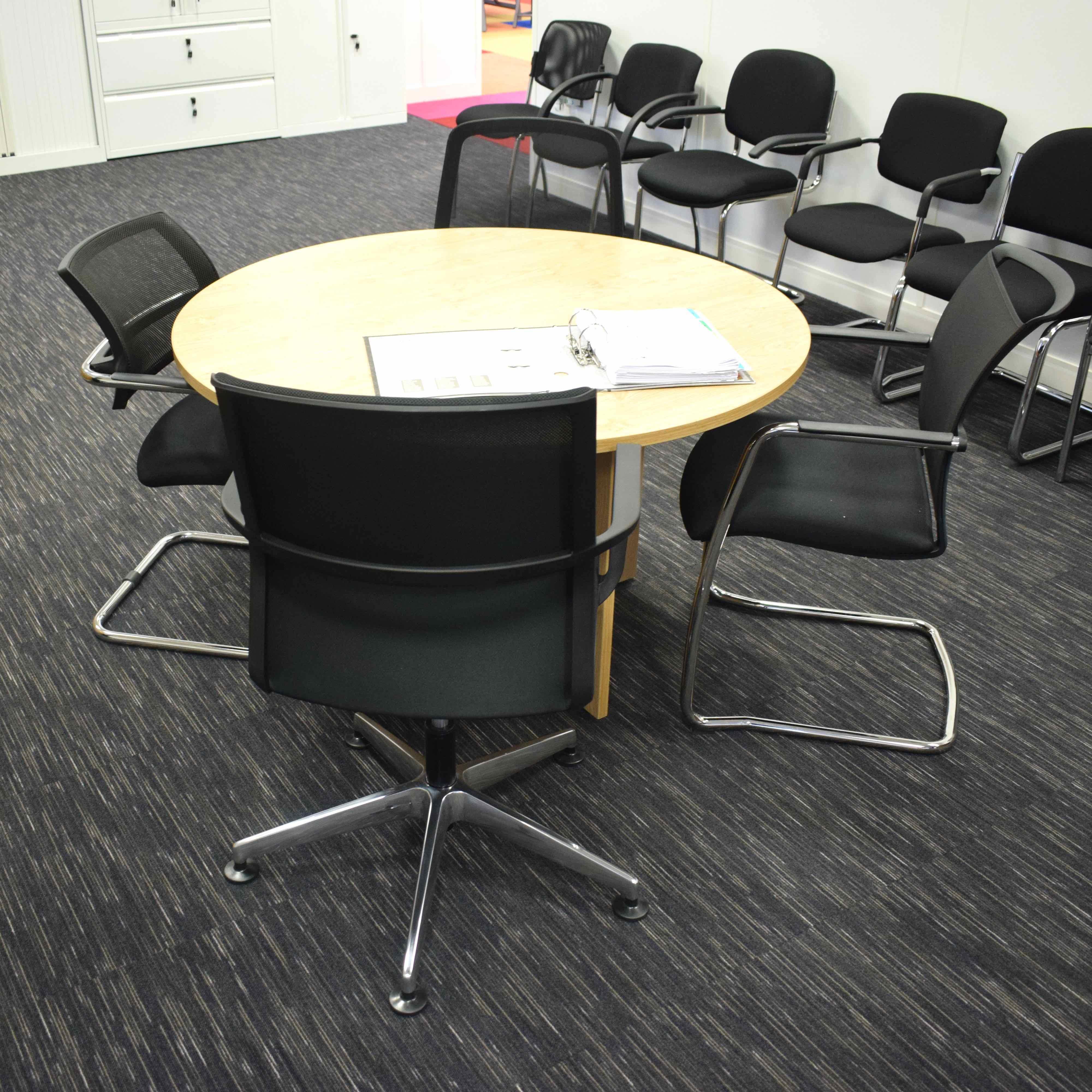 Paragon Carpet Tiles | Strobe | Office Visions Hero