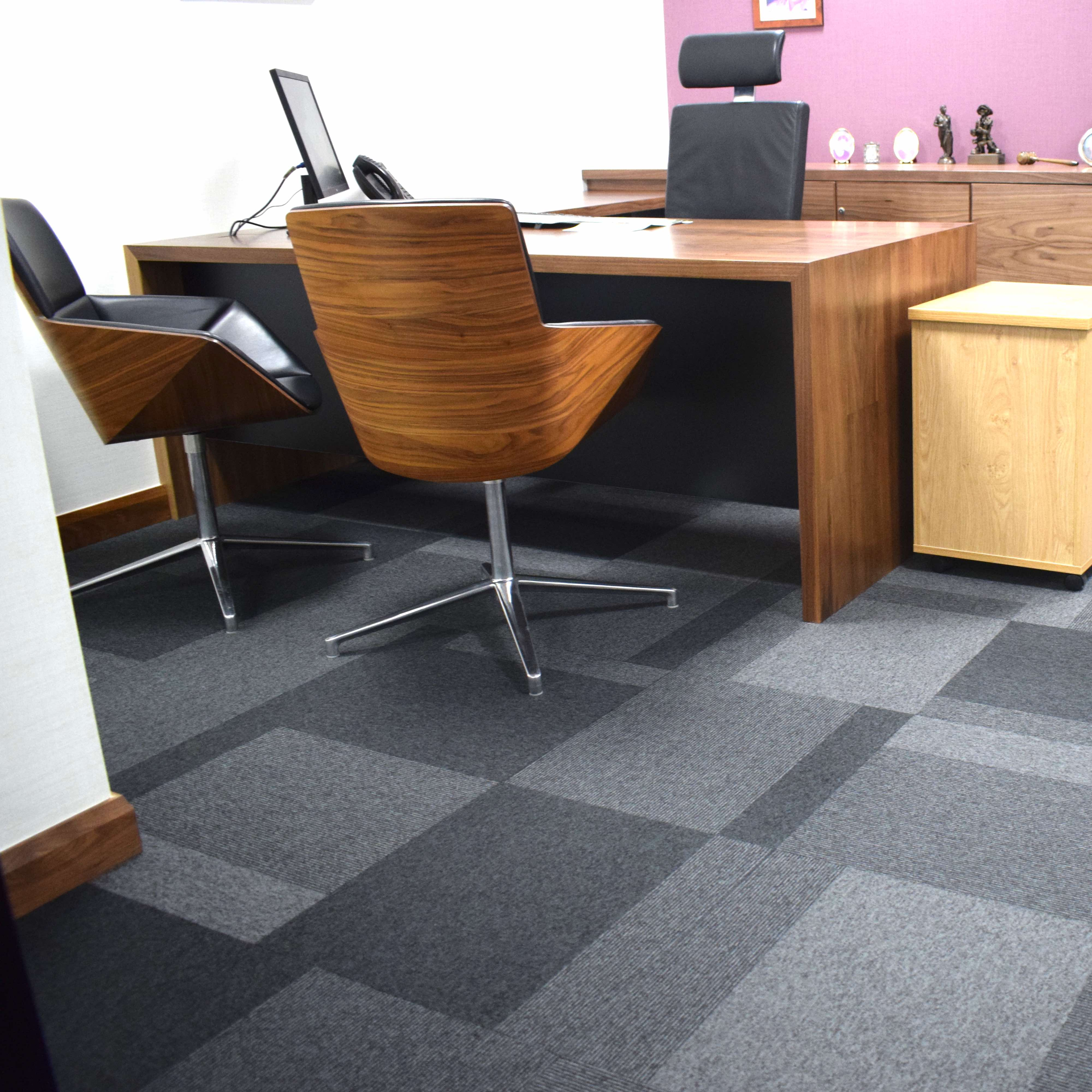 Paragon Carpet Tiles | Total Contrast | Office Visions Hero