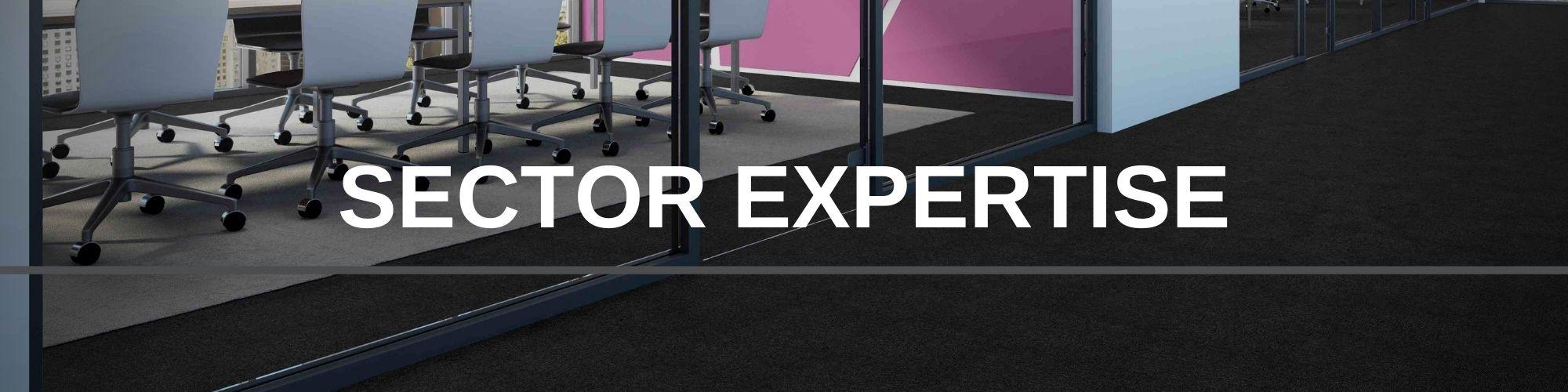 SECTOR EXPERTISE | Paragon Carpet Tiles | Commercial Carpet Tiles