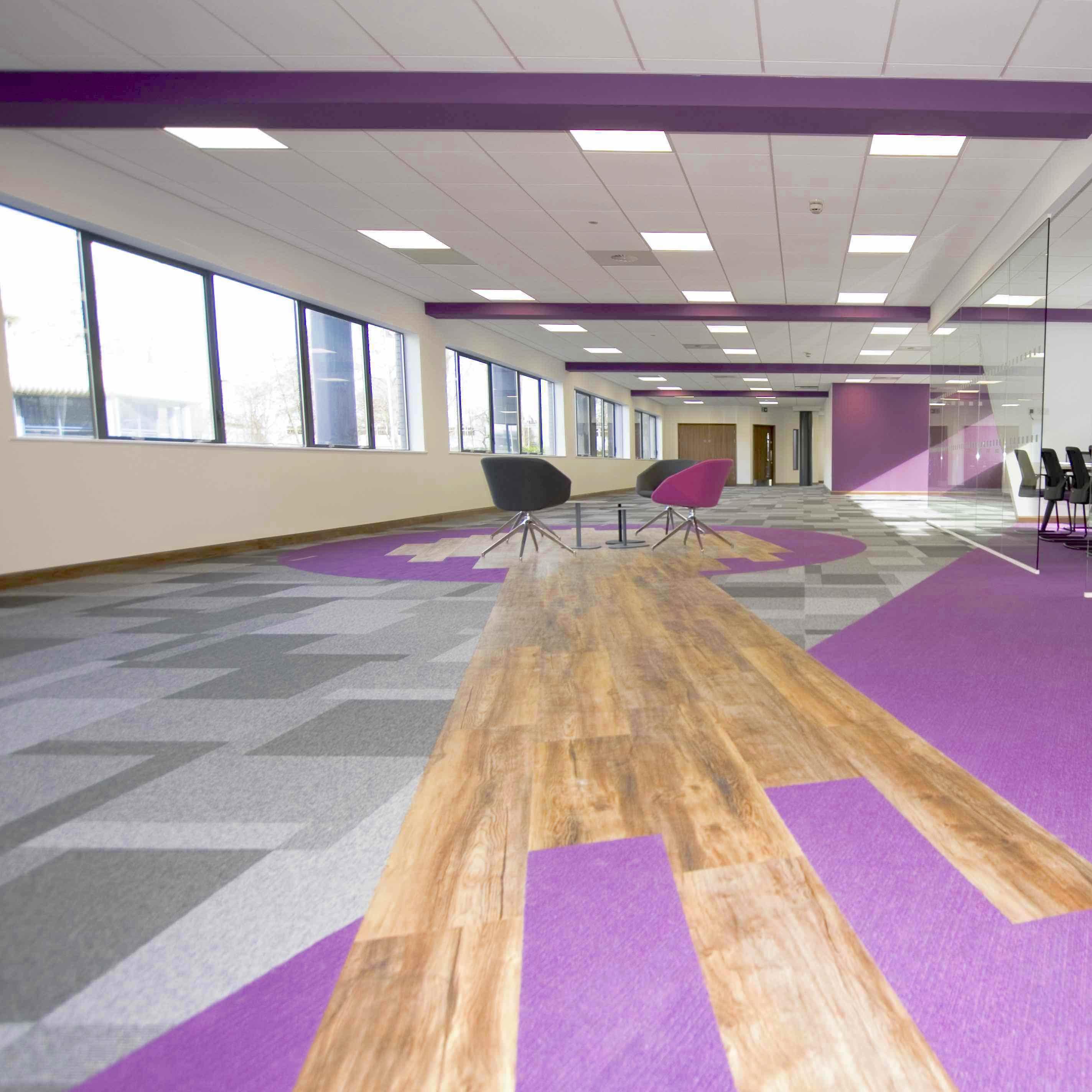 Severnside House - Total Contrast - Paragon Carpet Tiles