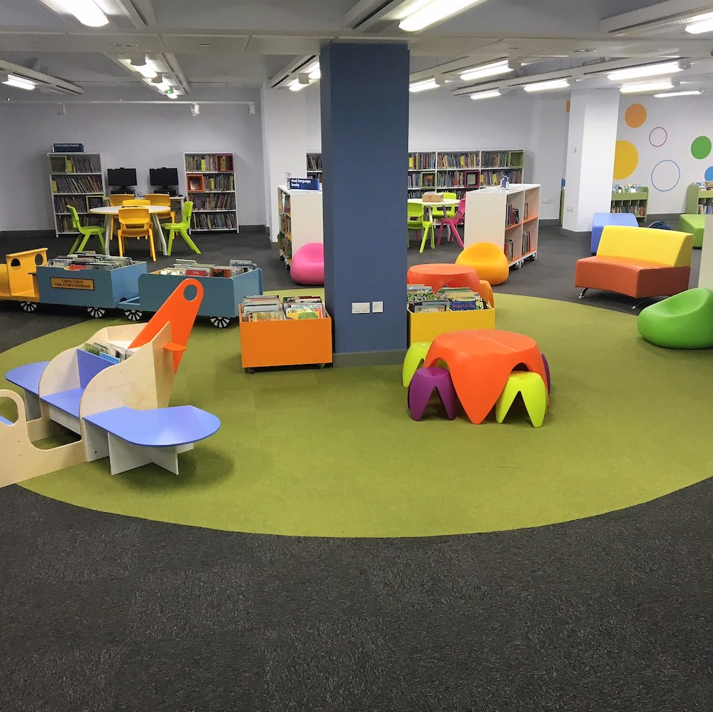 Paragon Carpet Tiles | Sirocco | Cambridge Library