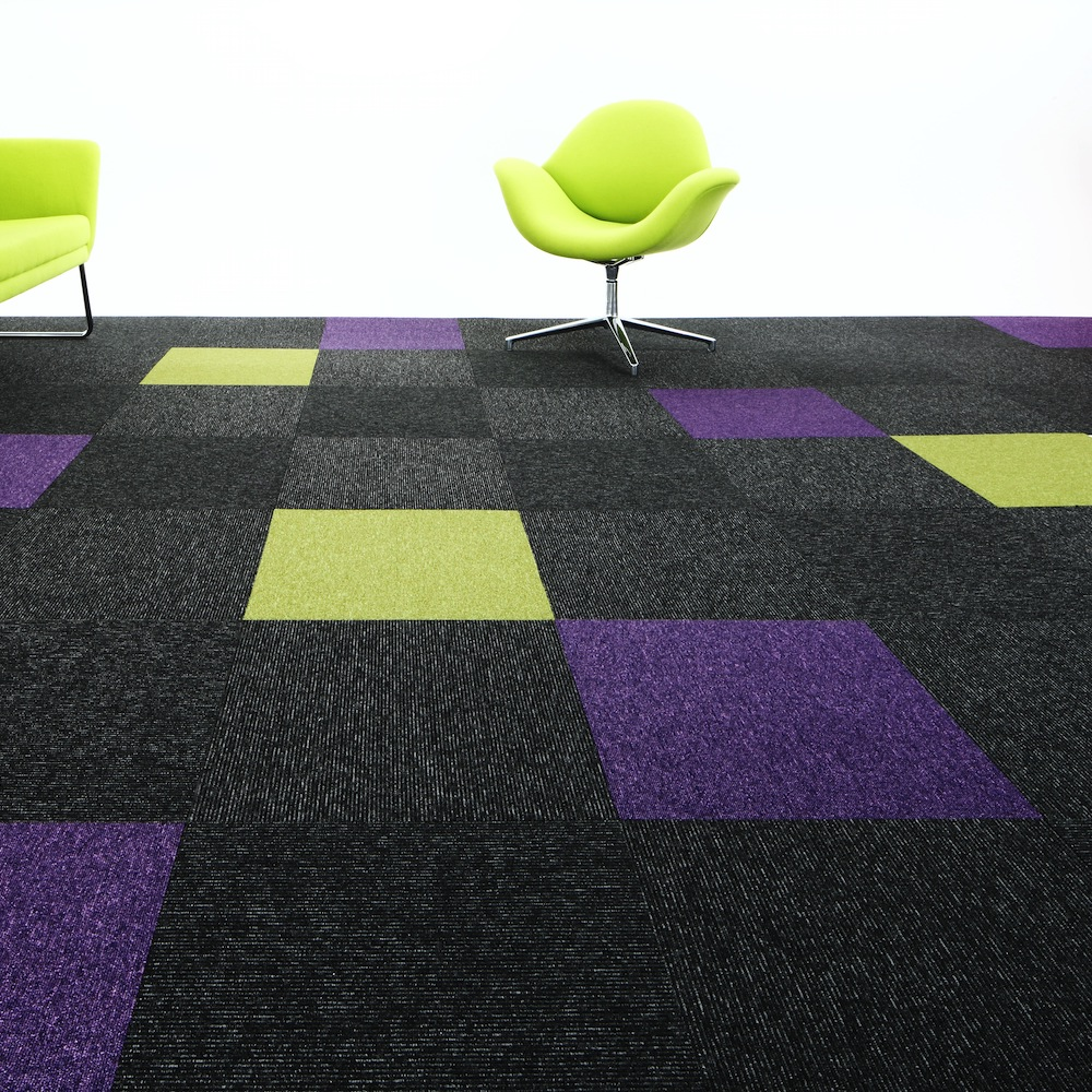 Paragon Carpet Tiles | Commercial Carpets | Sirocco Stripe