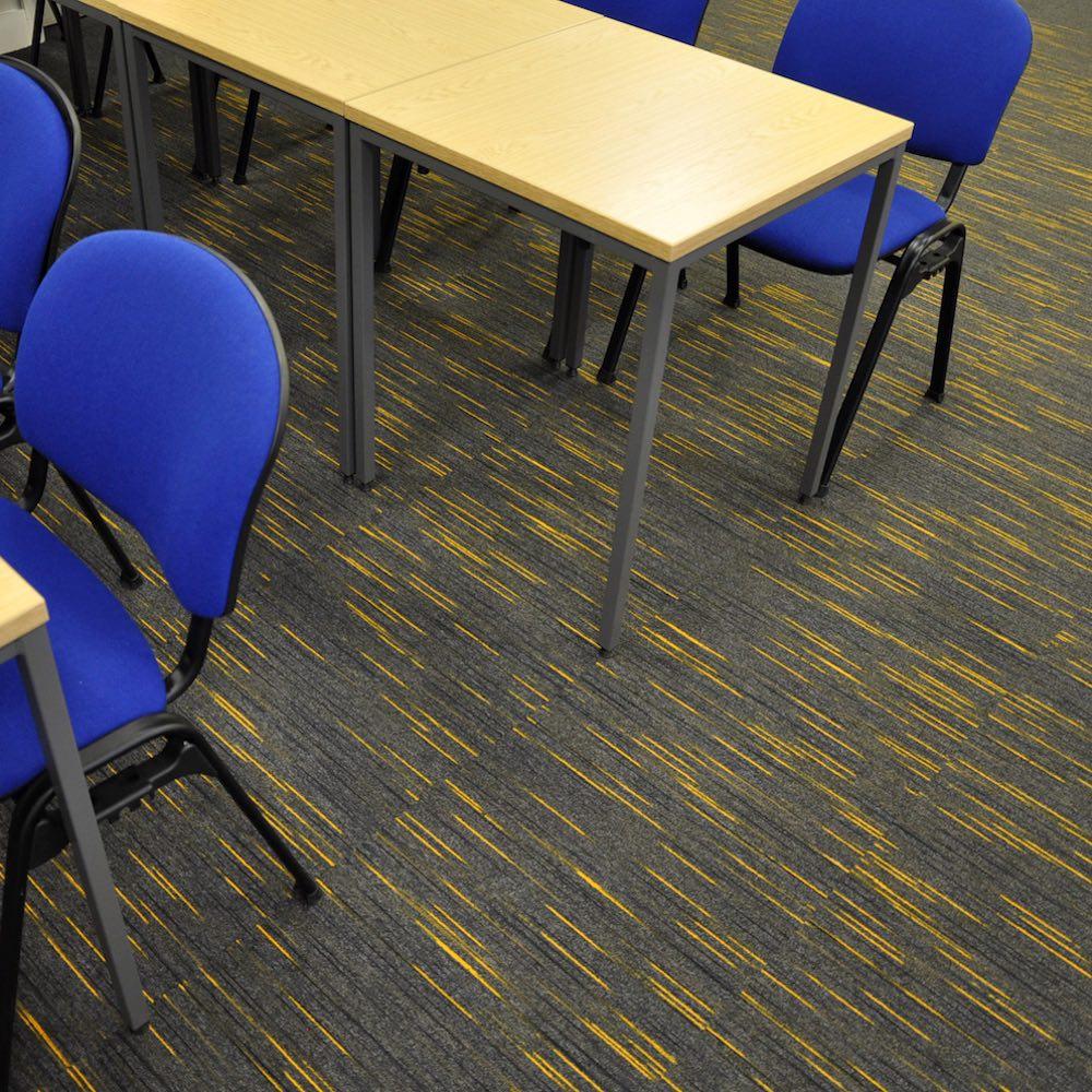 Paragon Carpet Tiles | Strobe | Bradford University