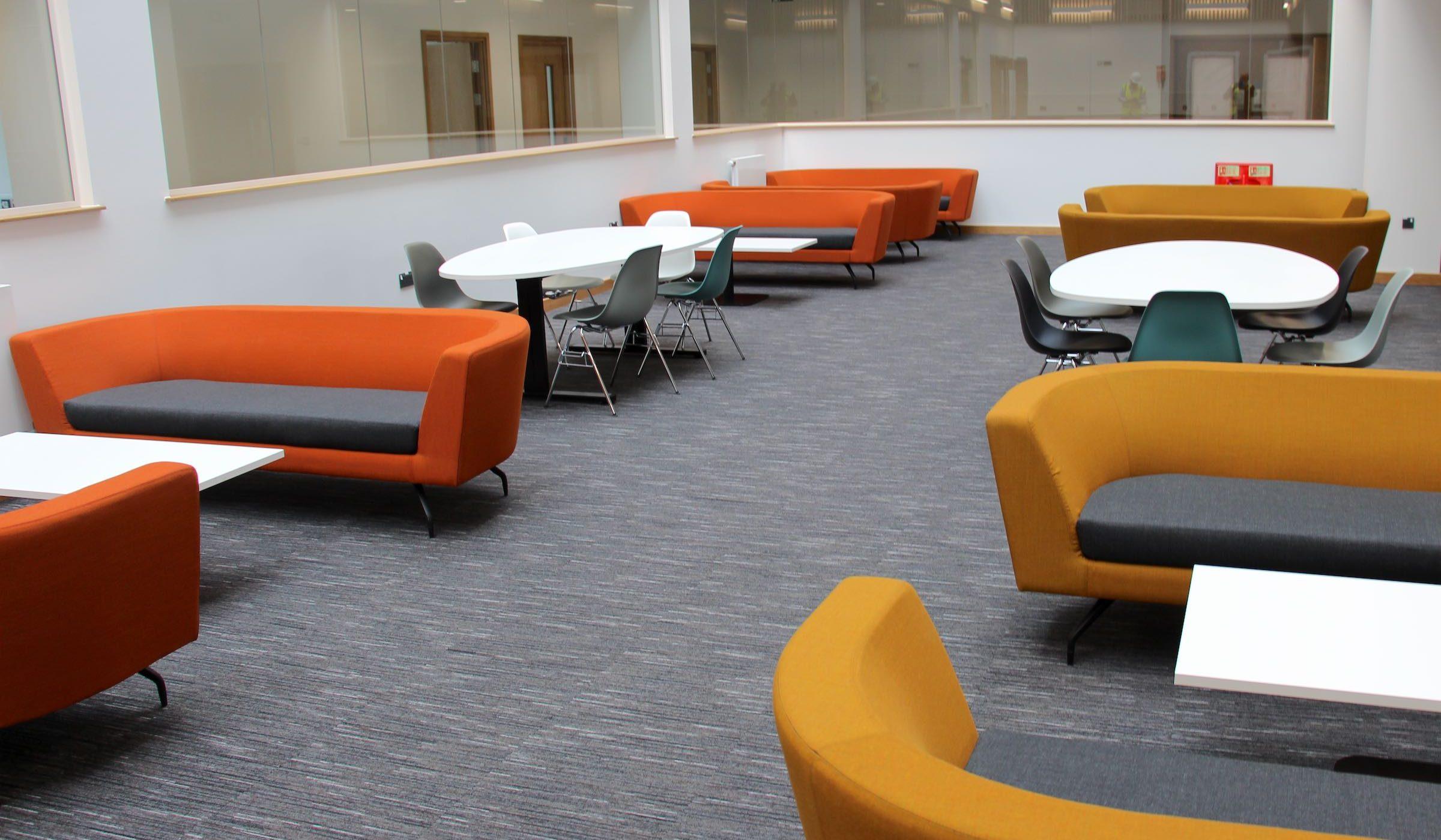 Strobe | Paragon Carpet Tiles | Commercial Carpet Tiles | Design Carpet Tiles 6