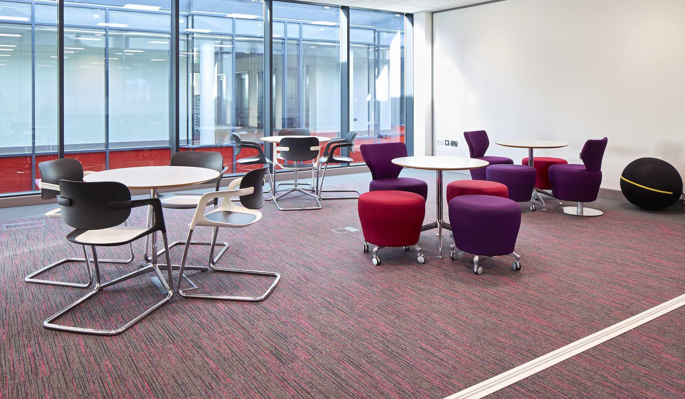 Strobe | Paragon Carpet Tiles | Commercial Carpet Tiles | Design Carpet Tiles 9