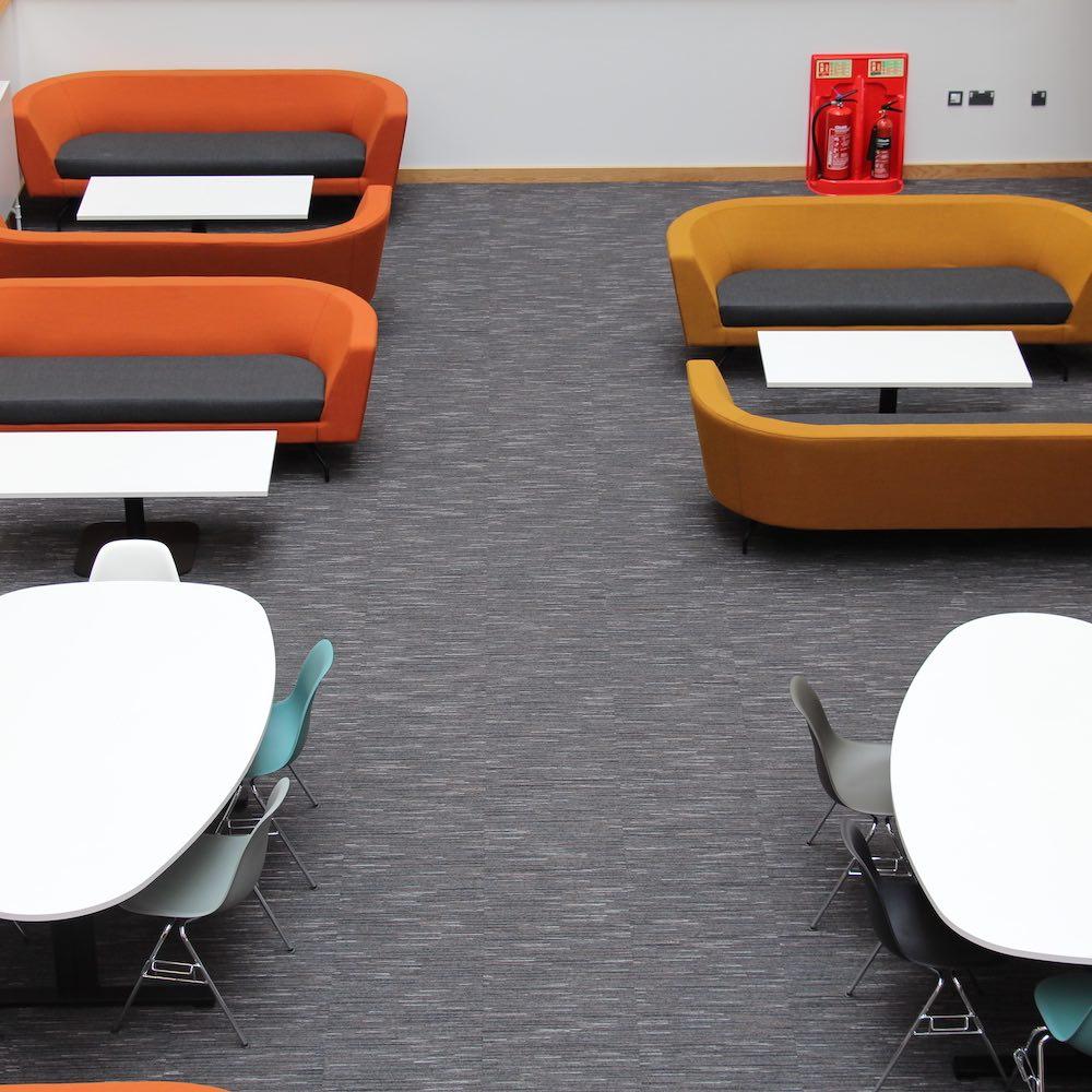 Paragon Carpet Tiles | Strobe | Swansea University