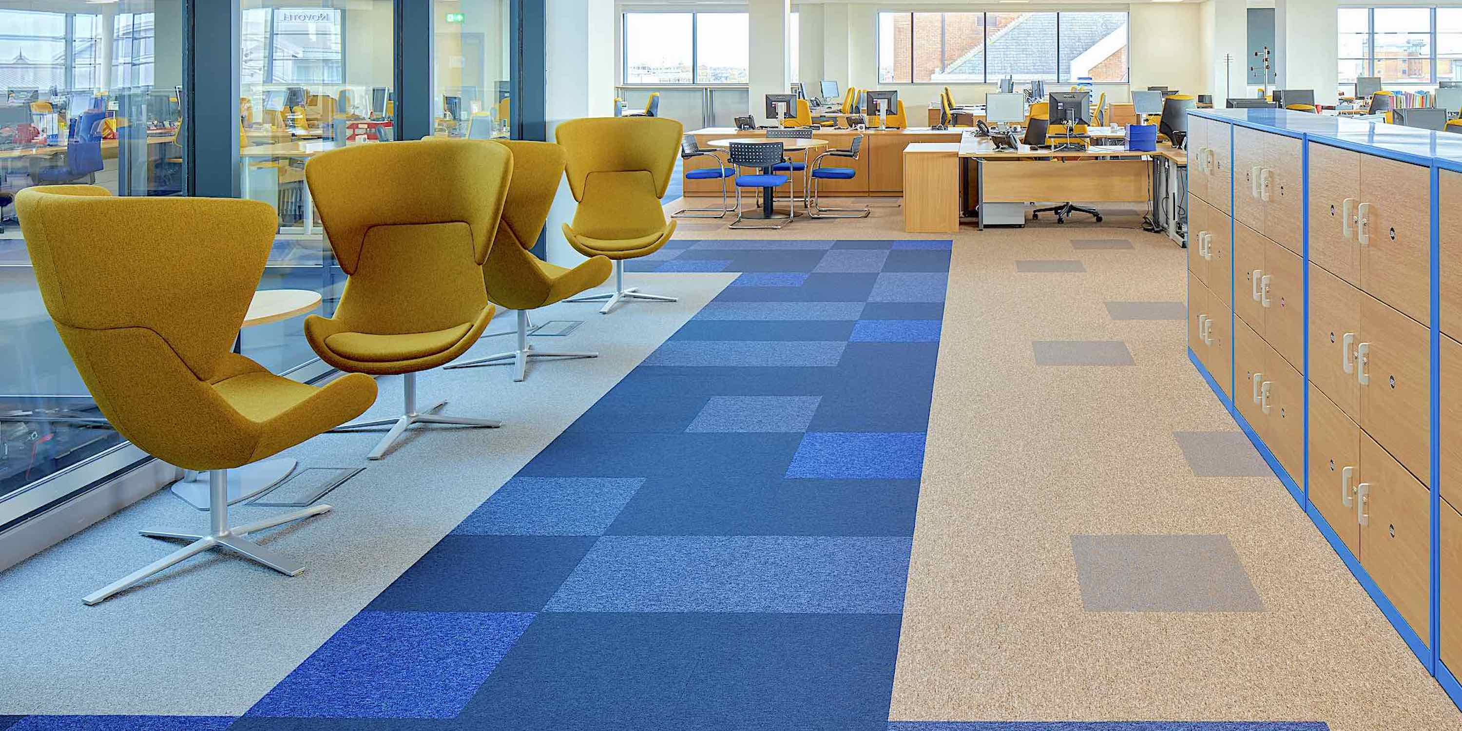 Toccarre | Loop Pile Carpet Tiles | Paragon Carpet Tiles | Commercial Carpet Tiles