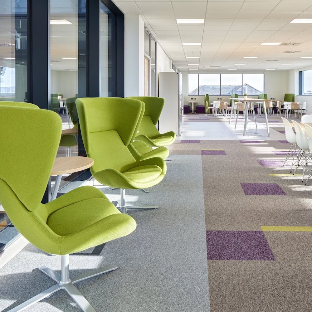 Paragon Carpet Tiles | Commercial Carpets | Toccarre