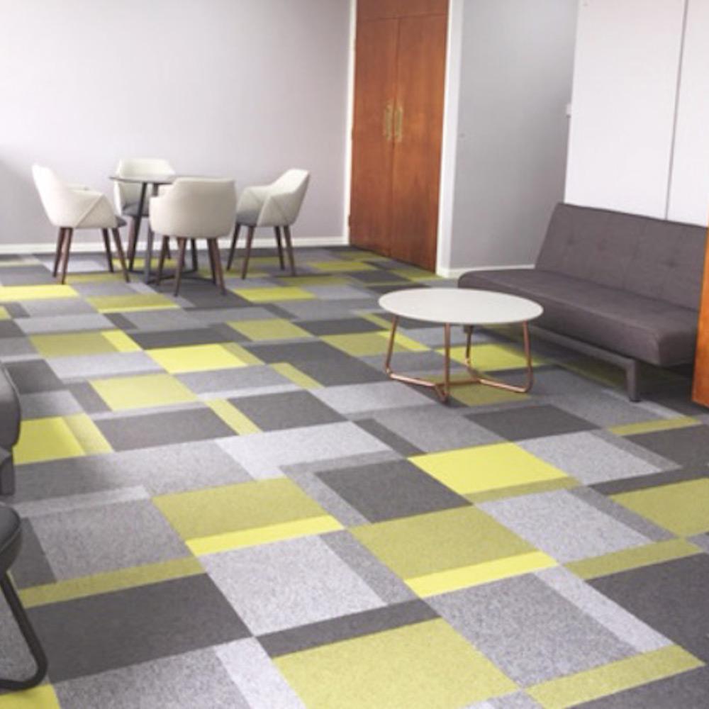 Paragon Carpet Tiles | Total Contrast | MCD Offices