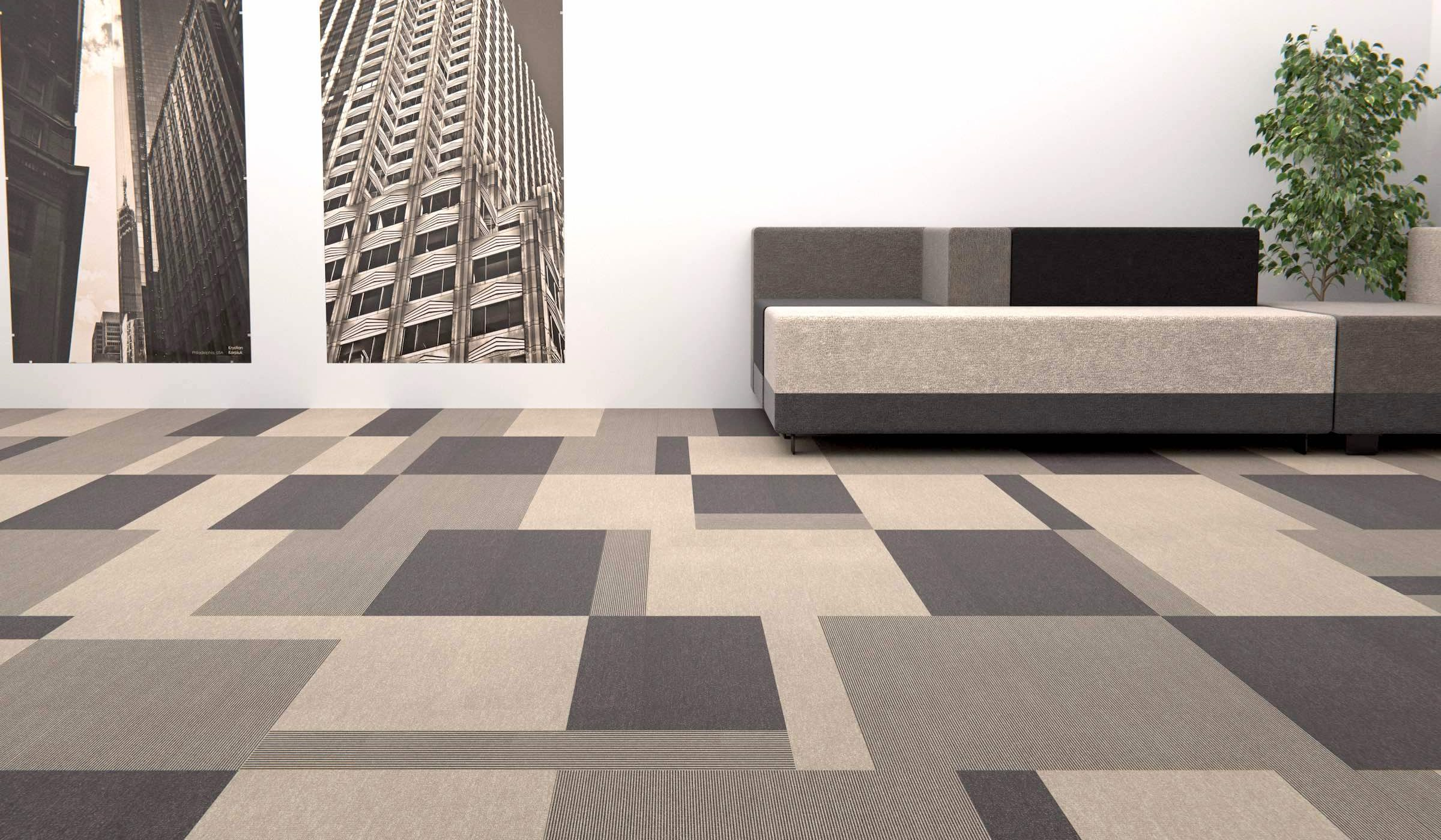 Total Contrast | Paragon Carpet Tiles | Commercial Carpet Tiles | Design Carpet Tiles 7