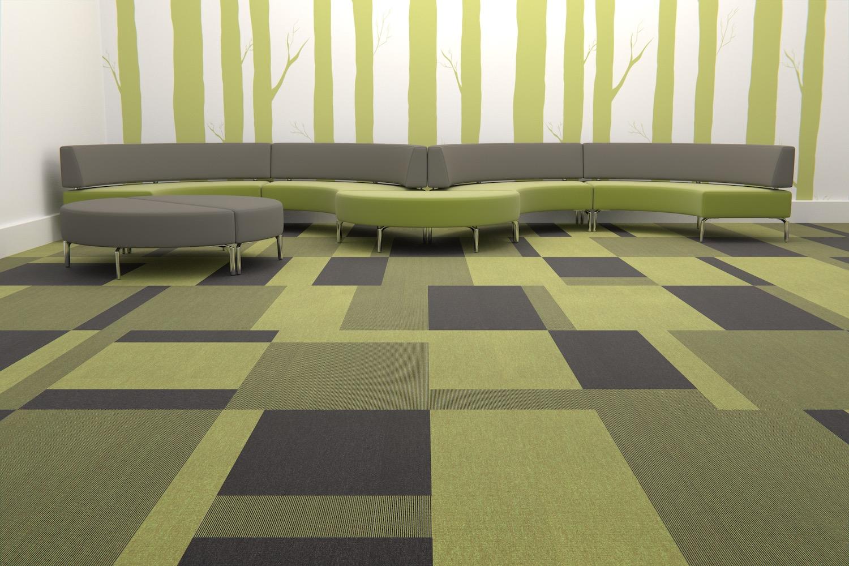 Paragon Carpet Tiles | Commercial Carpets | Total Contrast