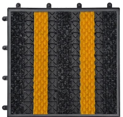 Treadloc 25 - Diamond Charcoal and Yellow