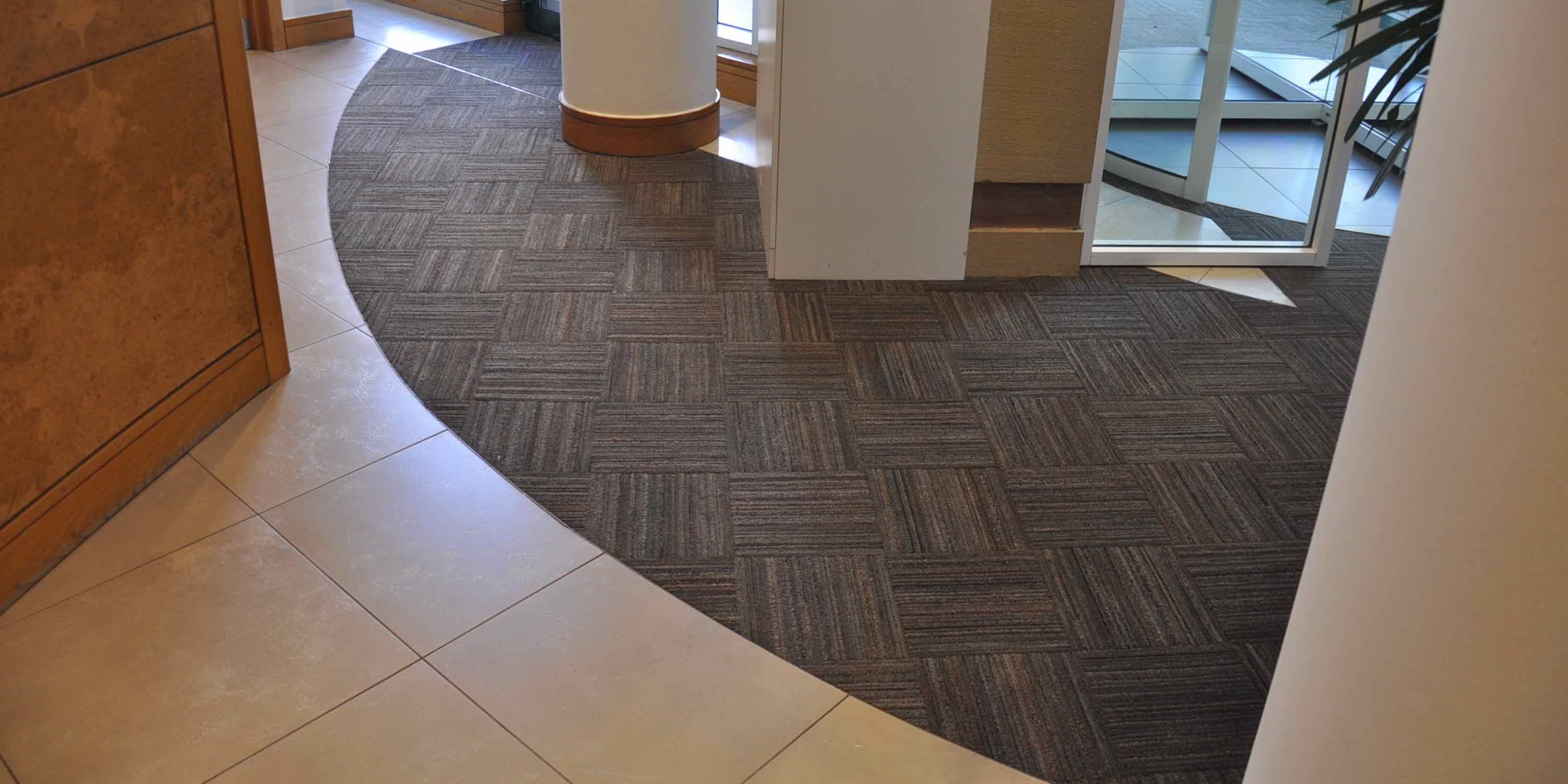 Paragon Carpet Tiles | MatWorks | Tyre Tile