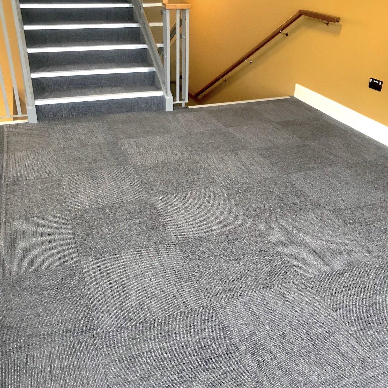 VEC Offices, Ireland - Workspace Linear - Paragon Carpet Tiles - Commercial Carpet Tile