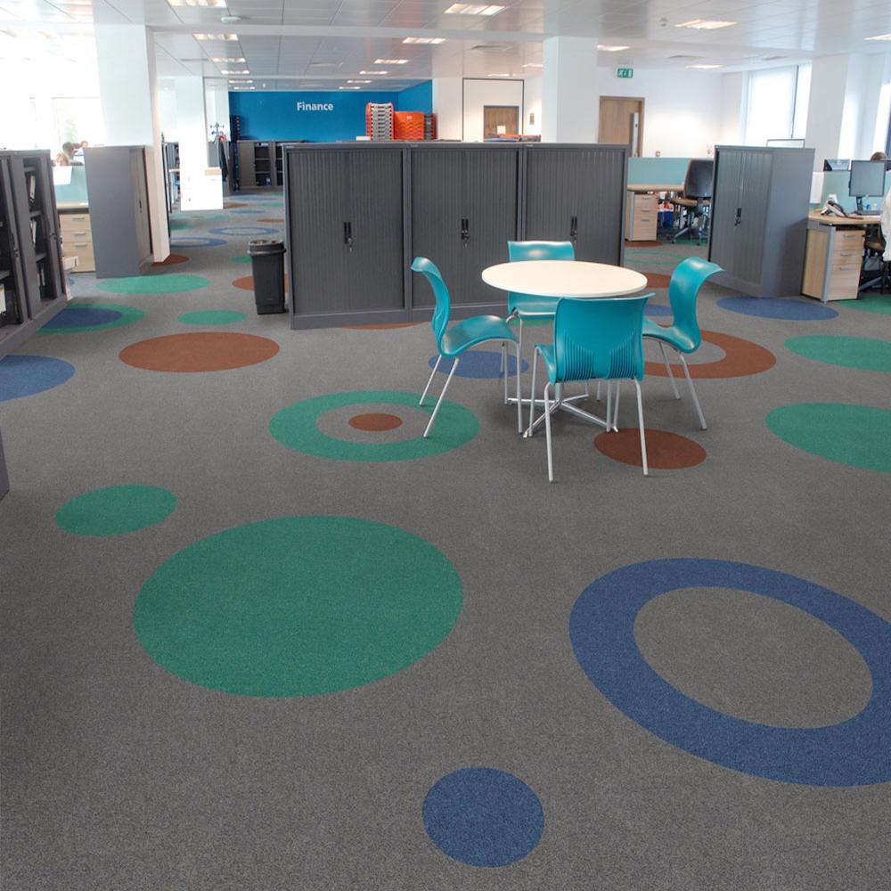 Paragon Carpet Tiles | Commercial Carpet Tiles | Workspace Cut Pile
