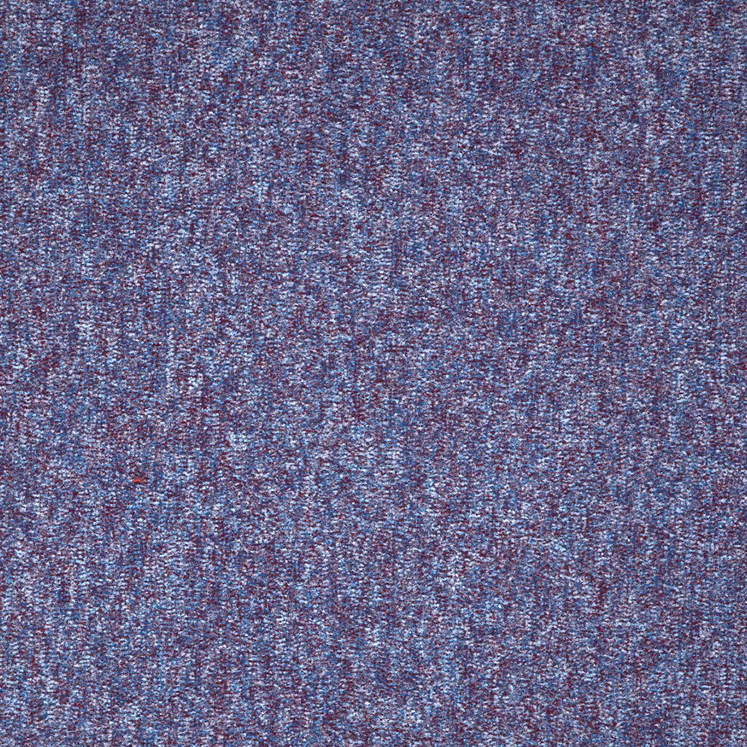 Workspace Cut Pile | Grape Blue, 6155C | Paragon Carpet Tiles | Commercial Carpet Tiles