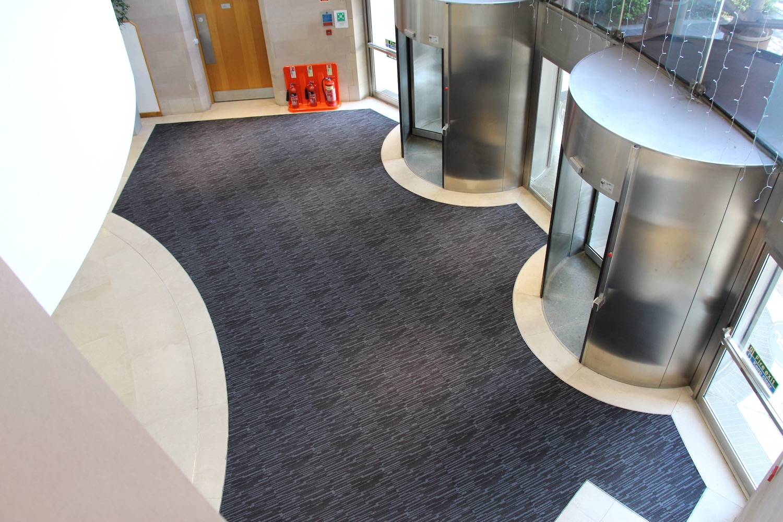 Paragon Carpet Tiles | MatWorks | Workspace Entrance Design