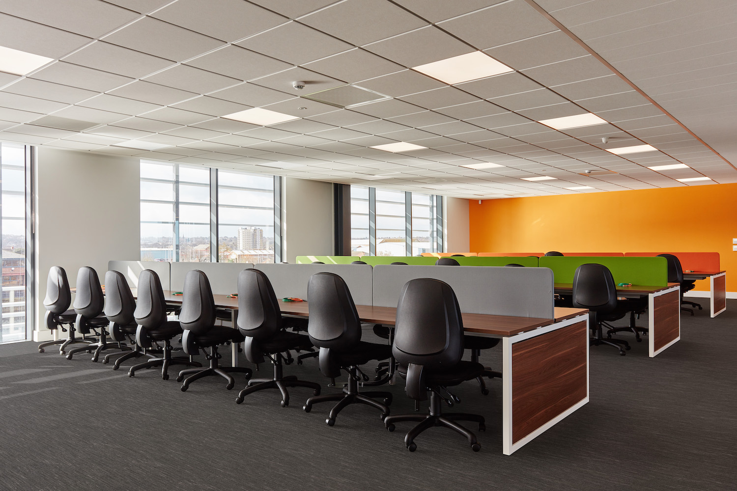 Workspace Linear | Design Loop Carpet Tiles | Paragon Carpet Tiles | Commercial Carpet Tiles