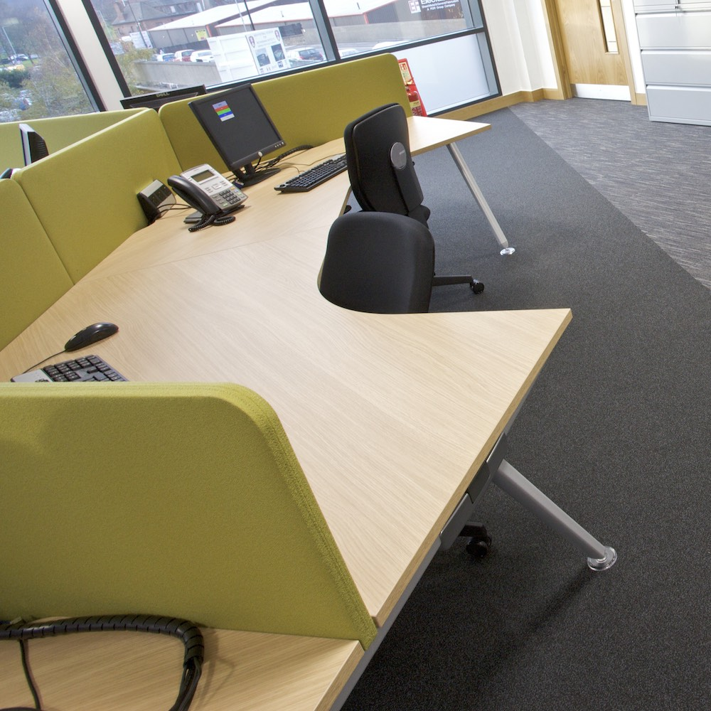 Paragon Carpet Tiles | Workspace Loop | Rotherham Council