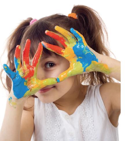 nurturing colour