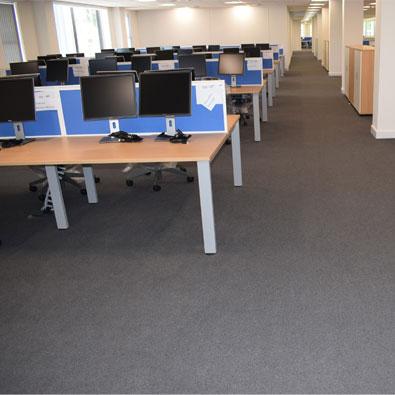 iron grey workspace cutpile