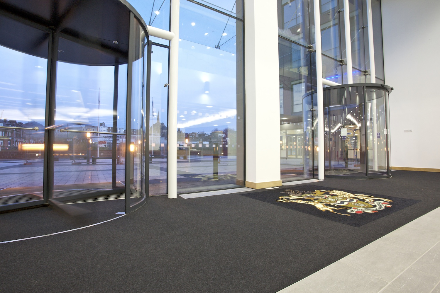 Paragon Carpet Tiles | MatWorks | Workspace Entrance
