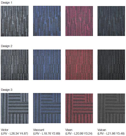 workspace entrance design colourways